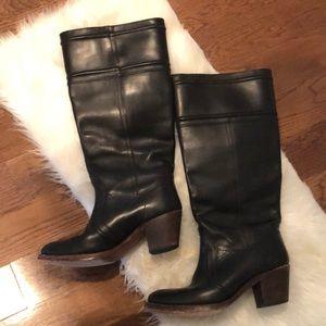 Frye Jane Tall Cuff Boots 6